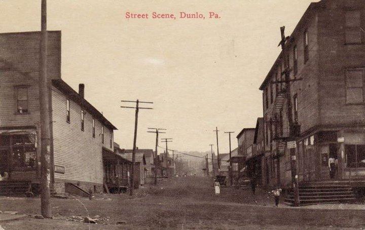 Dunlo, PA Stree Scene