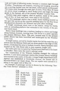 Dunlo - Llanfair Train Schedule (1913)