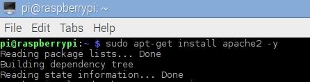 Pi - Apache Install